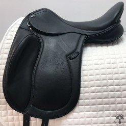 PDS Delicato monoflap dressage saddle profile