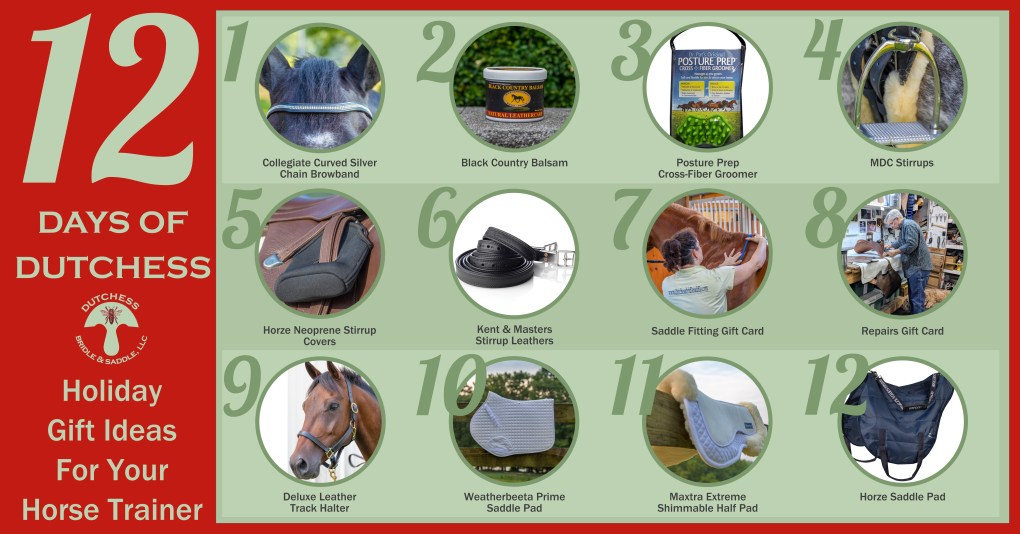 12 holiday gift ideas for equestrians