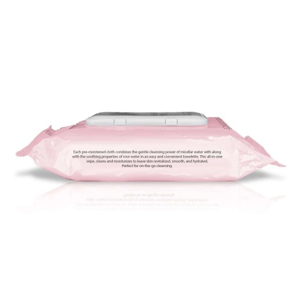 Pearlessence Miceller Rose Water Wipes