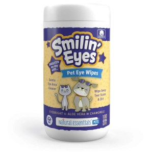 Smilin eyes pet wipes single canister