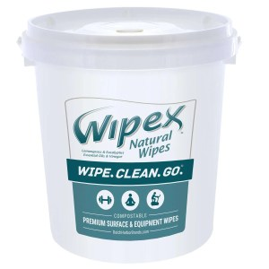 wipex lemongrass eucalyptus 400 count bucket fitness wipes