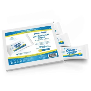 Germ-Away 6 packet box Travel Size wipes