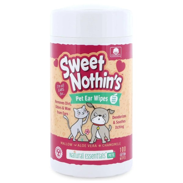Sweet Nothins ear wipes 100ct