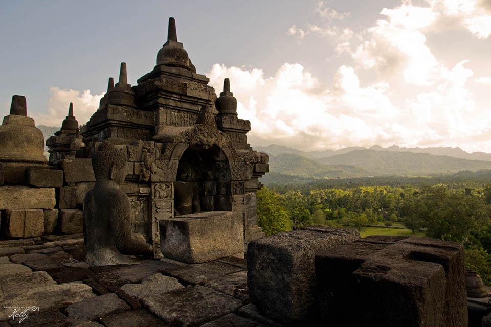 Borobodur, Java