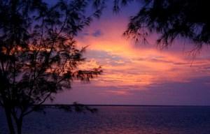 zonsondergang Darwin