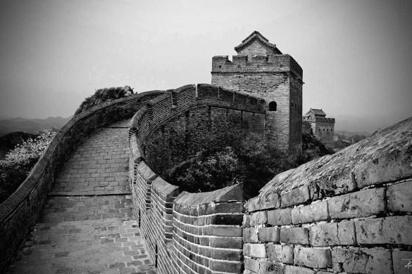 Chinese Muur, China