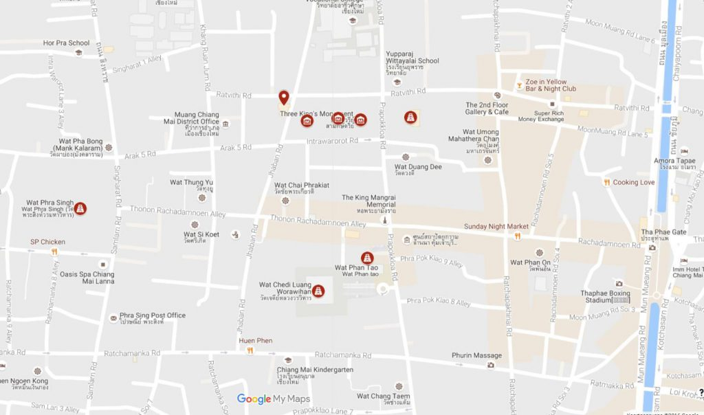 Stadswandeling Chiang Mai
