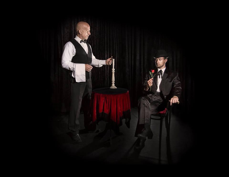 goochelaar Dion Tango act