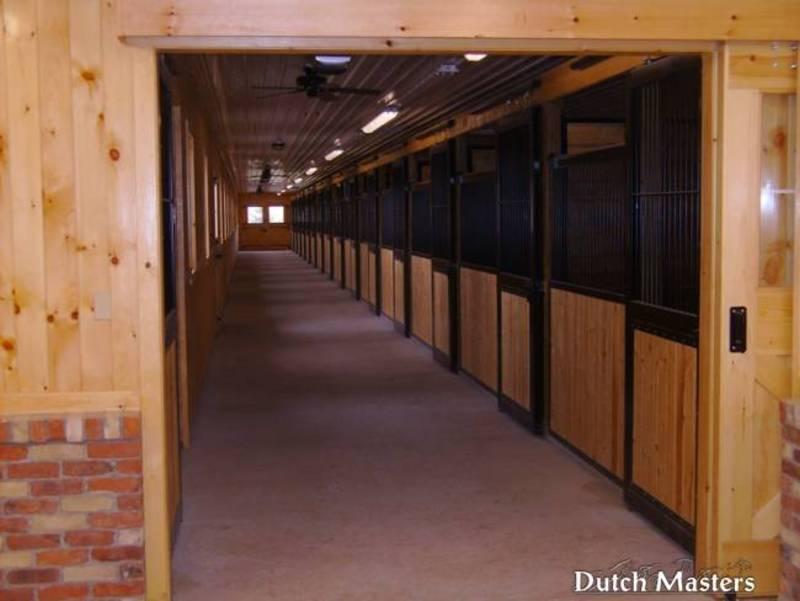 Farfield Farm Dutch Masters Horse Barn Builders Ontario