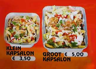 Patatje Kapasalon met recept