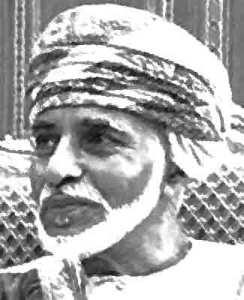 Qaboes bin Said Al Said van Oman