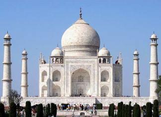 Taj Mahal, meest bezochte toeristische attracties ter wereld