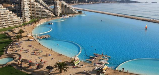 De mooiste zwembaden ter wereld, de Top 10, San Alfonso del Mar Resort, Algarrobo, Chili
