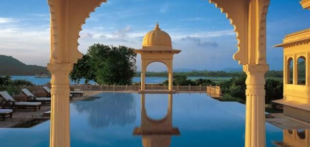 De mooiste zwembaden ter wereld, de Top 10, The Oberoi Udaivilas, Udaipur, India