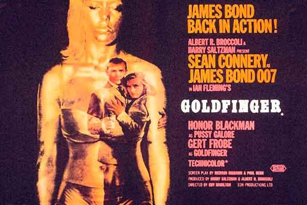 Beste James Bond song is Goldfinger