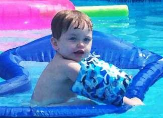 Gemiddeld zwembad bevat 75 liter urine