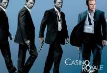 Beste James Bond Film aller tijden is Casino Royale