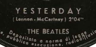 Meest gecoverde nummer is Yesterday van The Beatles