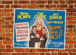 Beste komedie film is Some Like It Hot