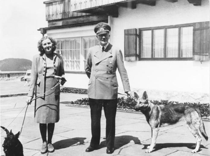 Eva Braun en Adolf Hitler