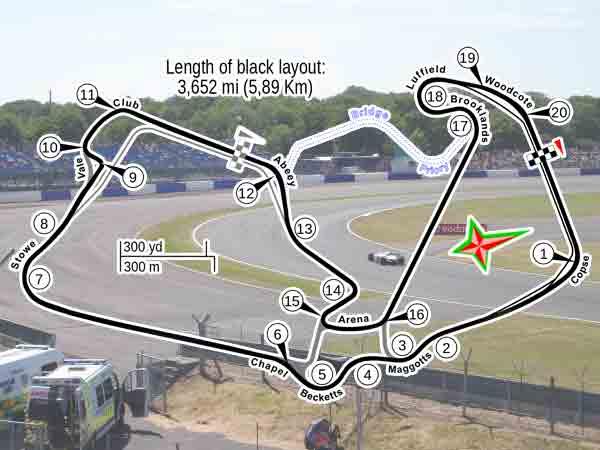 Alle winnaars Formule 1 Grand Prix Groot-Brittannië