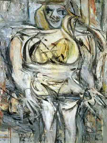 Willem de Kooning, Woman III, 1953