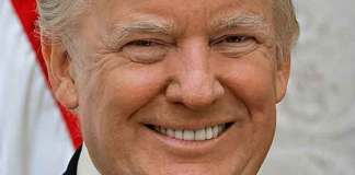 Intelligente president Verenigde Staten; Donald Trum op vijf