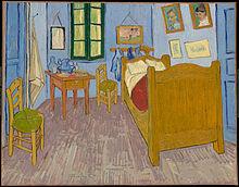De slaapkamer in het Musée d'Orsay - Vincent van Gogh