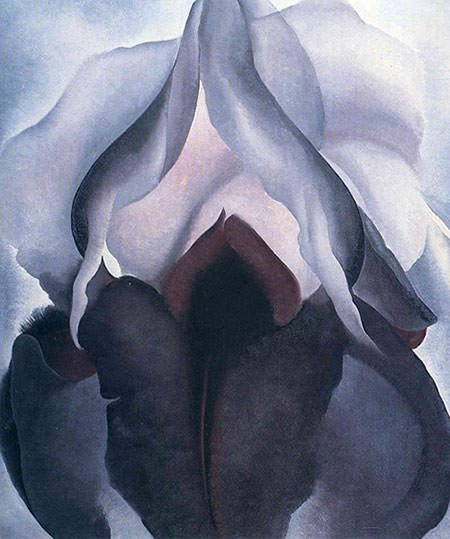 Georgia O'Keeffe - Black Iris III (1926)