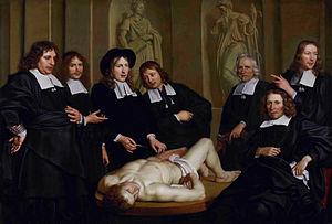 Adriaen Backer - Anatomische les van Prof. Frederik Ruysch