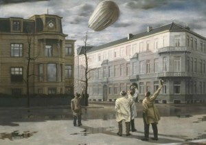 Carel Willink - Zeppelin Medium