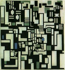 Theo van Doesburg - Compositie IX (De kaartspelers)