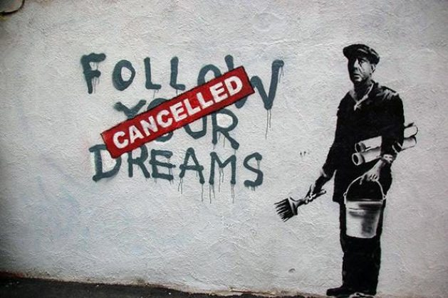 Banksy - Follow Your Dreams (Cancelled) - 2010