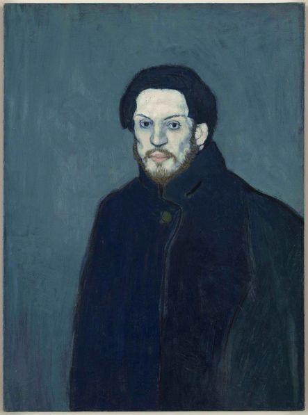 Pablo Picasso - Zelfportret (1901)