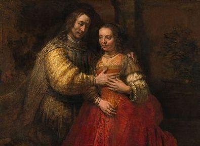 Rembrandt - Het Joodse Bruidje