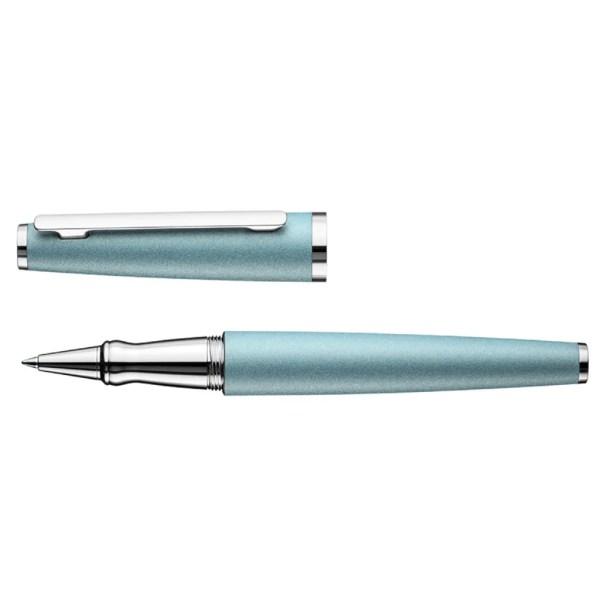 Otto Hutt_Design06_Artic Blue Matt Platinum_Rollerball