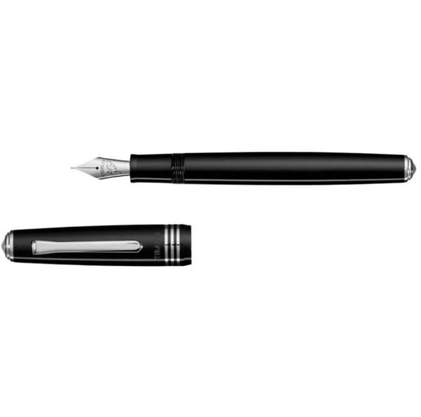 Tibaldi_No.60_Rich-Black-Resin_Fountain Pen