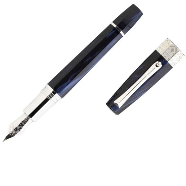 Montegrappa_Extra Otto_Dark Blue_Fountain Pen