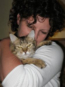 Juno en Karin maart 2008