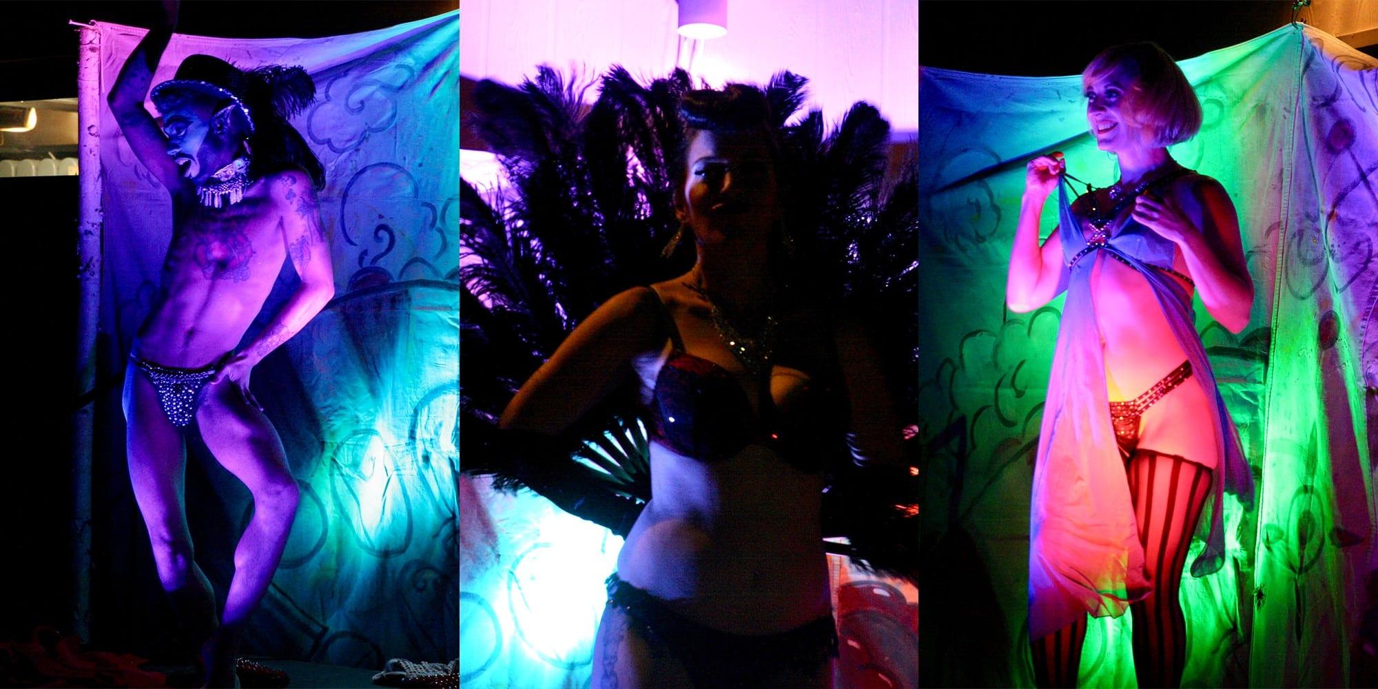 Burlesque at the Dutchtown Karneval.