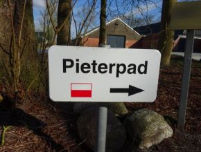 Pieterpad-route-markering