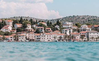Kroatische kust, door Peter Fazekas