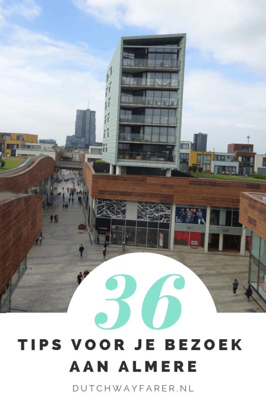 36 tips voor je bezoek aan Almere