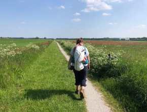 Voorbereiding wandelweekend