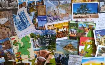 Favoriet souvenir: mijn ansichtkaarten verzameling