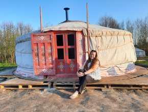 Bijzonder overnachten in een Yurt