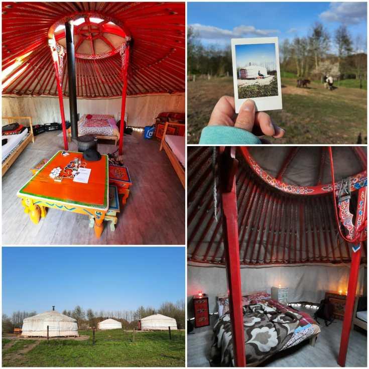 Impressie van onze vakantie in een yurt in Drenthe