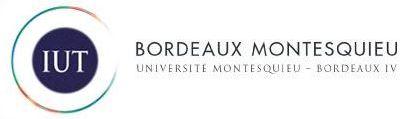Logo IUT Bordeaux Montesquieu