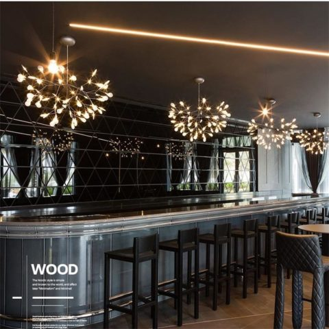 contemporary led chandeliers dutti