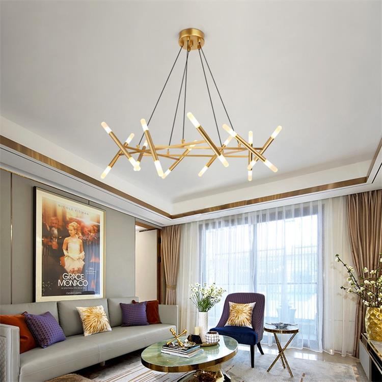 Dutti D0044 Nordic Led Chandelier Living Room Modern